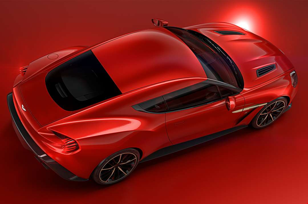 Vanquish Zagato Aston Martin - How much is an aston martin